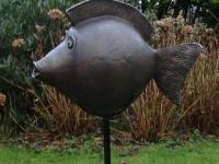 bronzen-bole-vis. Verkocht